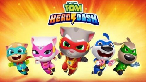 Download-Talking-Tom-Hero-Dash-APK-(MOD-Unlimited-Money)